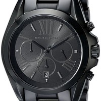 MDIG5 Michael Kors Men's Bradshaw Blacktone Chronograph Watch