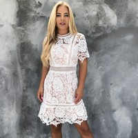 Crochet With Me White Dress