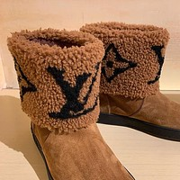 Louis Vuitton LV 2020 snow boots