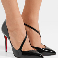 Christian Louboutin - Jumping 100 patent-leather pumps