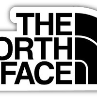 """THE NORTH FACE 3""""x6"""" Sticker Decal Vinyl"""