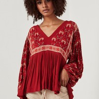 Jewel Smock Blouse