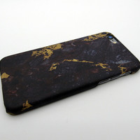 Gold Black Marble Stone iPhone 5se 5s 6 6s Plus Case Cover + Nice Gift Box 268