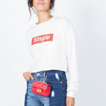 Riding Solo Sweater