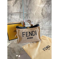 Fendi Women's Leather Shoulder Bag Satchel Tote Bags Crossbody 0228