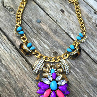 LOVE TO BE BOLD NECKLACE