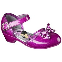 Toddler Girl's Minnie Mouse Ballet Flat - Pink