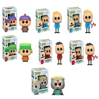 Funko South Park POP! Vinyl Figure Set of 7 with Chase