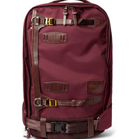 PRODUCT - Master-Piece - Potential Leather-Trimmed Cordura Backpack - 435014   MR PORTER