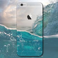 Blue sea water mobile phone case for iPhone 7 7 plus iphone 5 5s SE 6 6s 6 plus 6s plus + Nice gift box 072301
