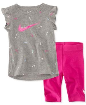 Image of Nike 2-pc. Pant Set Baby Girls, Various Sizes, Colors