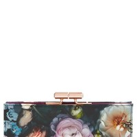 Ted Baker London 'Shadow Flora' Matinee Wallet - Grey