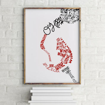Vine poster Inspirational poster Vine quote Words art Wall artwork Wall art Print But first vine Typography poster Room poster Home decor