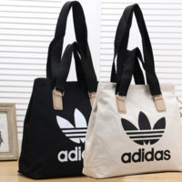 Adidas Women Fashion Leather Satchel Bag Shoulder Bag Handbag