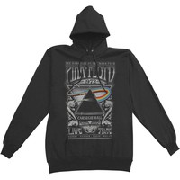 Pink Floyd Men's  Carnegie Hall Poster Hooded Sweatshirt Black