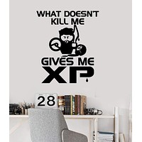 Vinyl Wall Decal Gamer Quote Video Game Gaming Stickers Mural Unique Gift (ig3733)