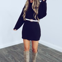 Girls Of Fall Dress: Black