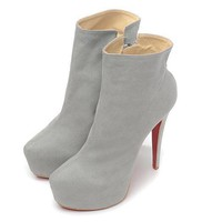 Christian Louboutin Women Fashion Casual Heels Shoes Boots