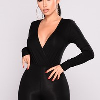 Cared For Jumpsuit - Black