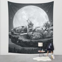 Echoes of a Lullaby Wall Tapestry by Soaring Anchor Designs | Society6