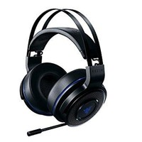 Razer Thresher 7.1 - Playstation 4 (PS4) & PC Wireless Gaming Headset - 7.1 Dolby Surround Sound with Retractable Microphone