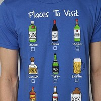 Five Crown Places To Visit Tee