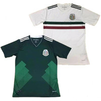Mexico home away soccer jersey thai quality 2017 2018 Mexico green white shirt CHICHARITO O.PERALTA soccer football Jersey