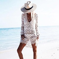 Dahlia Beach Tunic Cover Up