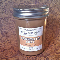 Dauntless Cake (Inspired by Divergent) - 8 oz