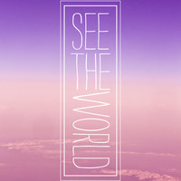 See The World Stretched Canvas by Sara Eshak