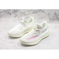 Adidas Yeezy Boost 350 V2 White Discoloration Rainbow Spring