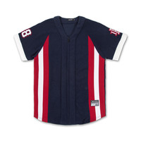 Legends Terry Jersey in Navy – Pink+Dolphin