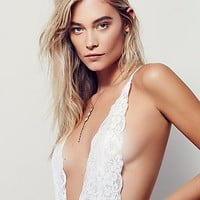 Free People Comin' In Haht Bodysuit