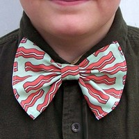 Bacon Bow Tie bowtie Meat Lover