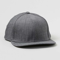 Grey Chambray Snapback - New In