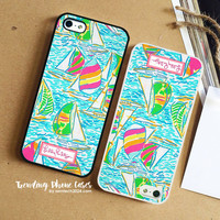 Sea Urchin-Lilly Pulitzer iPhone Case Cover for iPhone 6 6 Plus 5s 5 5c 4s 4 Case