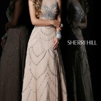 Sleeveless A-Line Gown by Sherri Hill