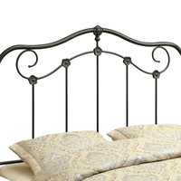 Coffee Queen / Full Size Combo Headboard - Footboard Only