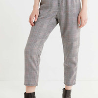 Urban Renewal Remade High-Rise Plaid Trouser Pant | Urban Outfitters