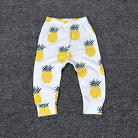 Bobo Choses pineapple summer Boys& Girls Leggings Pants Baby Clothes Kids Wear Children Clothing Boy Pants roupas de bebe casaco