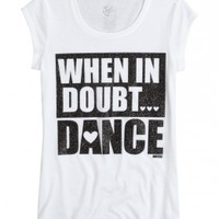 Dance Graphic Long Tee | Girls {category} {parent_category} | Shop Justice