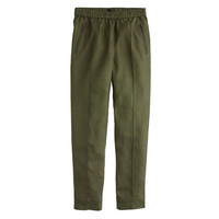 J.Crew Womens Tall Linen Pull-On Pant