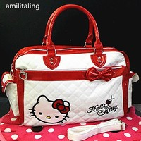 New Hello kitty Large Handbag purse Travel Tote Bag yey-2013A