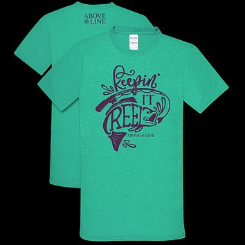 Couture Above The Line Soft Collection Keepin It Reel Fishing T-Shirt