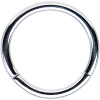 """16 Gauge Stainless Steel Segment Ring Circular Barbell 3/8"""" 