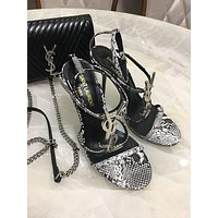 YSL   Fashion Women Slipper Boots Sandals High Heels Shoes