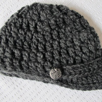 As Seen on The Vampire Diaries - Elena Crocheted Brimmed Hat