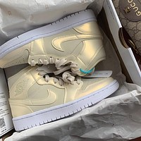 Inseva AIR JORDAN 1 MID AJ1 women's basketball shoes