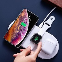 Baseus 3-in-1 Wireless Apple Charging Pad