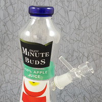 Minute Buds Clear Water Pipe
